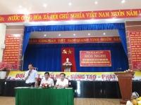 Đảng ủy xã Quế Châu: Tổ chức Hội nghị sơ kết công tác 6 tháng đầu năm 2020