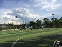 Đoàn xã Quế Châu tổ chức giải bóng đá mini nam, nữ  THCS Quế Châu