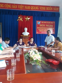 Hội LHPN xã Quế Châu tổ chức Hội nghị sơ kết 02 năm thực hiện Chỉ thị số 05-CT/TW của Bộ Chính trị.