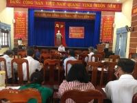 Hội nghị phản biện đóng góp ý kiến vào dự thảo báo cáo chính trị Đại hội Đảng bộ xã Quế Châu lần thứ XVII, nhiệm kỳ 2020- 2025
