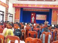 Ngày 31 tháng 7 năm  2018 Hội LHPN xã Quế Châu tổ chức tuyên truyền thông tin thời sự trong nước và Quốc tế.