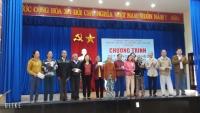 """Những hoạt động """"Tết vì người nghèo"""" của UBMTTQVN xã và các Hội, đoàn thể xã Quế Châu nhân dịp Tết nguyên đán Canh Tý 2020."""