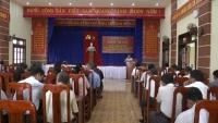 UBND xã Quế Châu Hội nghị Tổng kết tình hình KT-XH-ANQP năm 2017- triển khai phương hướng năm 2018